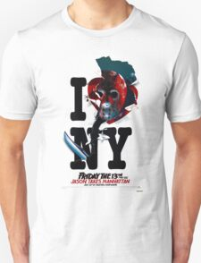 Jason Takes Manhattan Unisex T-Shirt