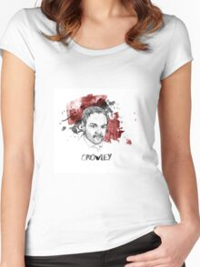 Crowley Supernatural Women's Fitted Scoop T-Shirt