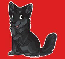 Little Wolf - Black by etuix