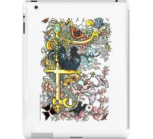 "The Illustrated Alphabet Capital  F  ""Getting personal"" iPad Case/Skin"