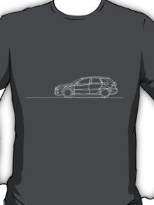 Audi A3 - Single Line T-Shirt
