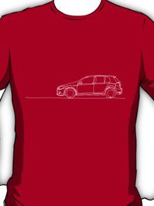 VW Golf - Single Line T-Shirt