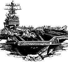 USS Theodore Roosevelt (CVN-71) by deathdagger