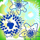 Joys Of Spring Floral Pattern Cushion Version 2 (see description) by Ra12