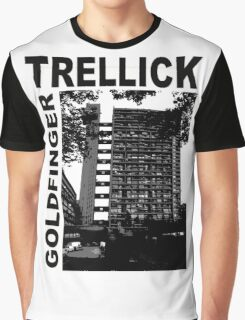Trellick Tower, Erno Goldfinger Graphic T-Shirt