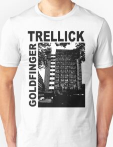 Trellick Tower, Erno Goldfinger Unisex T-Shirt