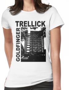 Trellick Tower, Erno Goldfinger Womens Fitted T-Shirt