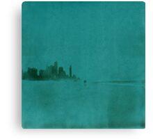 Gold Coast Polaroid Canvas Print