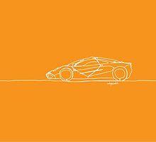 Mclaren F1 - Single Line by douglaswood
