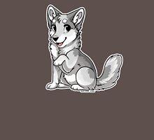 Little Wolf - White Unisex T-Shirt