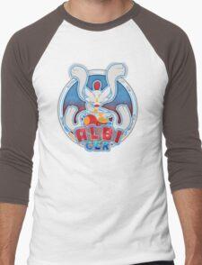 ALBI_GER Logo Men's Baseball ¾ T-Shirt