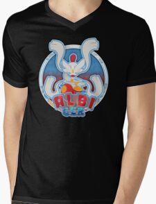 ALBI_GER Logo Mens V-Neck T-Shirt