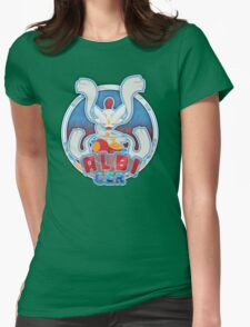 ALBI_GER Logo Womens Fitted T-Shirt