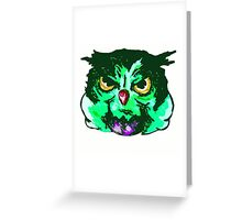 Hulk owl! Greeting Card