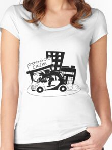 Mister Penguin, Sir Women's Fitted Scoop T-Shirt