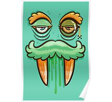 Sir Monster Monocle Poster
