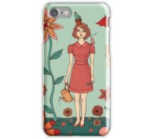 Welcome to my garden iPhone Case/Skin