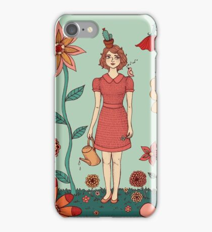 Welcome to my garden iPhone Case/Skin