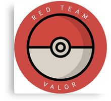 Red Team Valor Canvas Print