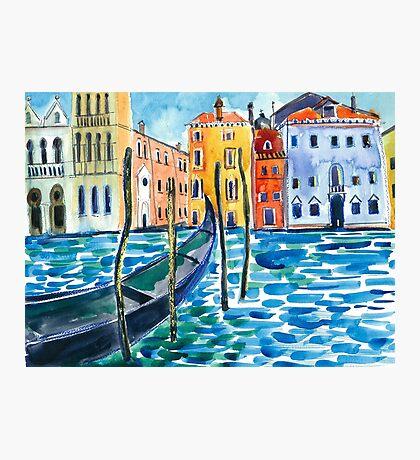 Venice - Watercolour Photographic Print