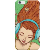 Summer, music and relax iPhone Case/Skin