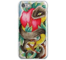 Snake and Apple iPhone Case/Skin