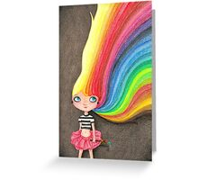 Colorfulia Greeting Card