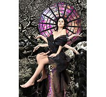 Arachne, Greek Mythological Goddess Photographic Print