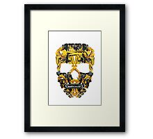 Skull Heavy Equipment Framed Print