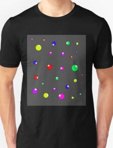 Colorful decorative bubbles Unisex T-Shirt