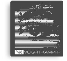 VOIGHT-KAMPFF TEST - BLADE RUNNER Canvas Print
