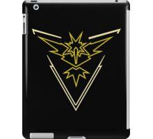 Team Instinct - Pokemon Go iPad Case/Skin