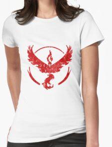 Pokemon,Team Valor Womens Fitted T-Shirt