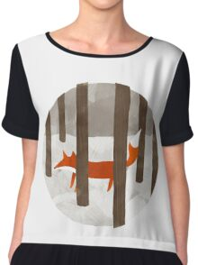 Hide and Seek Fox Chiffon Top