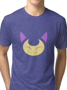 Pokemon - Skitty / Eneko Tri-blend T-Shirt