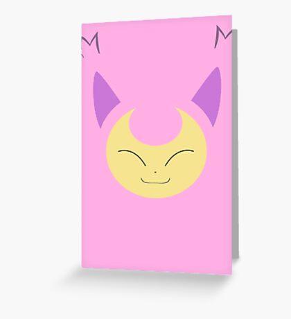 Pokemon - Skitty / Eneko Greeting Card