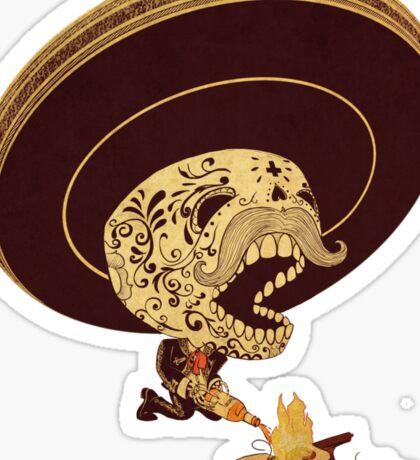 Monterrey Fire Sticker