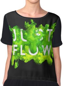 JUST FLOW (Green) Chiffon Top
