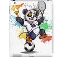 Sportlicher Panda Bär für Rio iPad Case/Skin