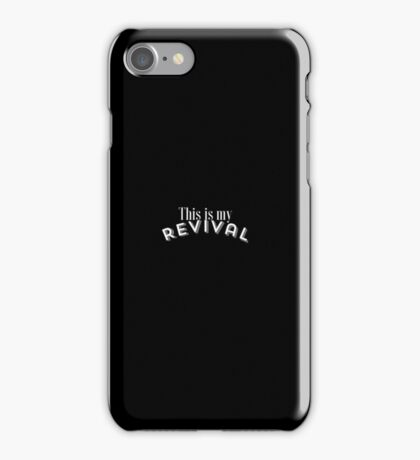 Selena Gomez, This Is My Revival Case and Sticker iPhone Case/Skin
