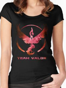 The Red Team Women's Fitted Scoop T-Shirt