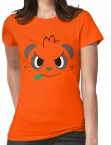 Pokemon - Pancham / Yancham Womens Fitted T-Shirt