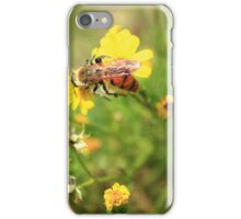 Bees Have to Move Very Fast to Stay Still iPhone Case/Skin