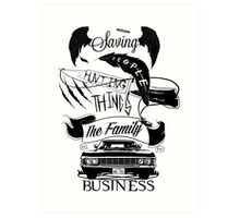 The Family Business Art Print
