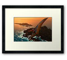 Pteranodon sternbergi Framed Print