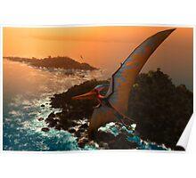 Pteranodon sternbergi Poster