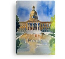 Front Pool Canvas Print