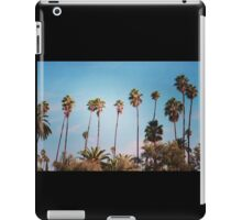 palm trees again iPad Case/Skin