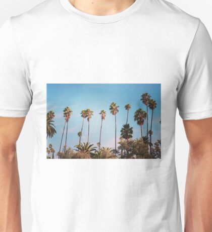 palm trees again Unisex T-Shirt