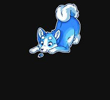 Rainbow Husky - Bue Unisex T-Shirt